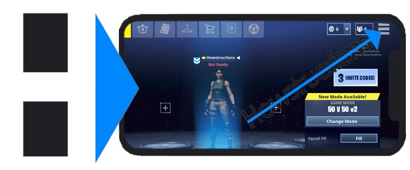 How To Logout Or Switch Accounts With The Fortnite Mobile App Howstructions